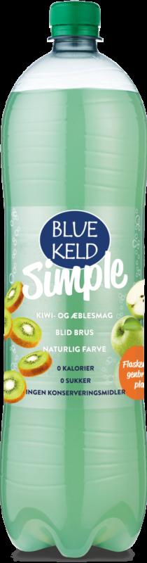 Blue Keld Simple Kiwi/æble